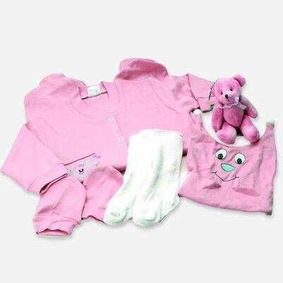 0-3 Ay Kız Bebeklere Özel Hediye Seti - Thumbnail
