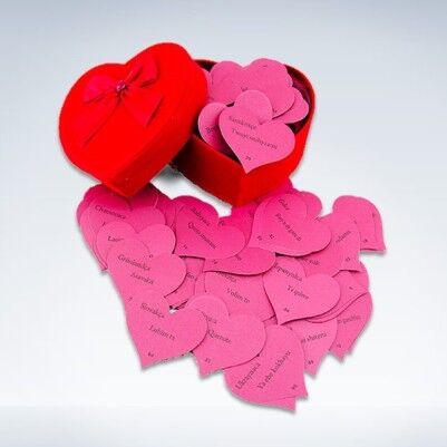 Kalpli Kartlarda 100 Dilde Seni Seviyorum Sözleri - Thumbnail