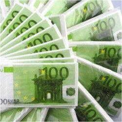 100 Euro Kağıt Mendil - Thumbnail