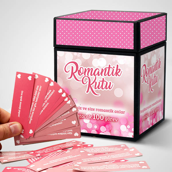 100 Romantik Görev İçeren Kutu