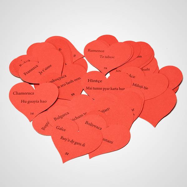 100 Dilde Seni Seviyorum Kutusu