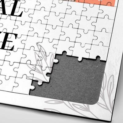 14 Şubat Hatırası Fotoğraflı Puzzle - Thumbnail