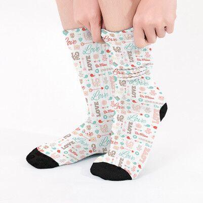 - 14 Şubat Hediyesi Sevgiliye Özel Çorap