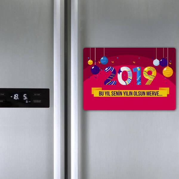 2019 Tasarımlı Kişiye Özel Magnet