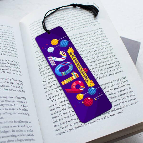 2019 Yılbaşı Hediyesi Kitap Okuma Ayracı