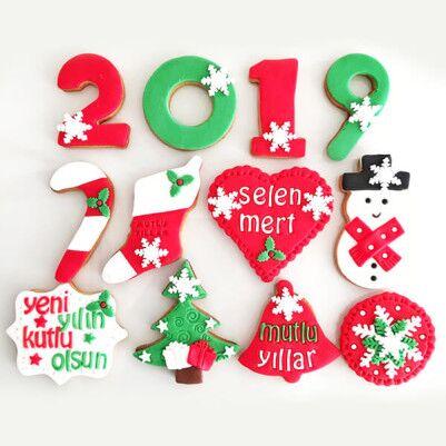 - 2019 Yılbaşına Özel Butik Kurabiyeler