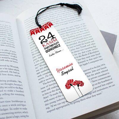 - 24 Kasım Temalı Kitap Okuma Ayracı