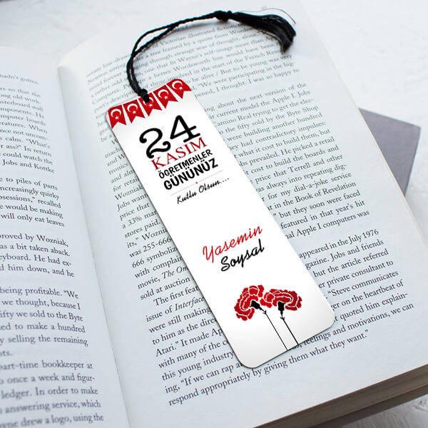 24 Kasım Temalı Kitap Okuma Ayracı