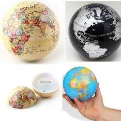 - 360 Derece Dönen Dünya Küresi