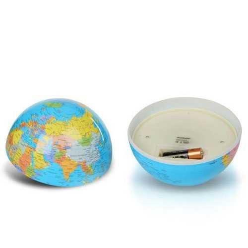 360 Derece Dönen Dünya Küresi