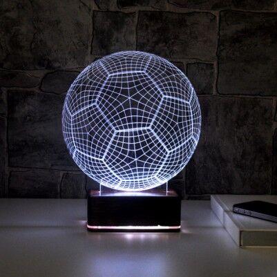 - 3D Futbol Topu LED Lamba