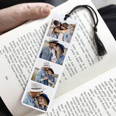 - 4 Fotoğraflı Kişiye Özel Kitap Ayracı