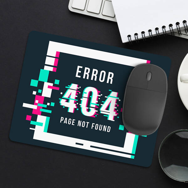 404 Page Not Found Mousepad