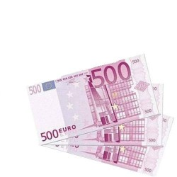 500 EURO Peçete - Thumbnail