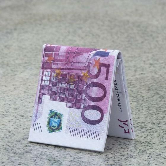 500 Euro Şeklinde Cüzdan