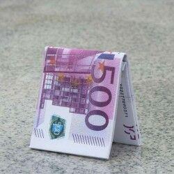 - 500 Euro Şeklinde Cüzdan