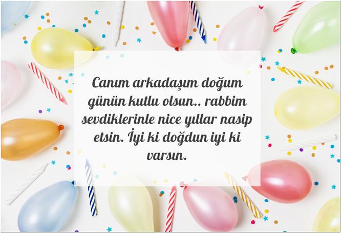 erkeğe doğum günü mesajı