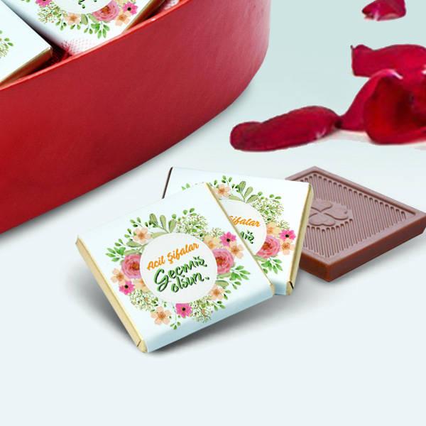 Acil Şifalar Geçmiş Olsun Çikolatası