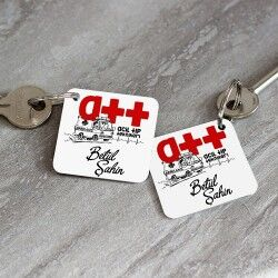 - Acil Tıp Teknikerlerine Hediye Anahtarlık