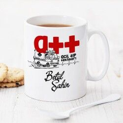 - Acil Tıp Teknikerlerine Hediye Kupa Bardak