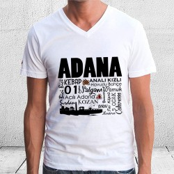 Adana Tasarımlı Baskılı Tişört - Thumbnail