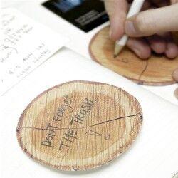 - Ağaç Şeklinde Yapışkanlı Not Kağıtları