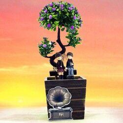 - Ağacın Altındaki Sevgililer Dekoratif Biblo