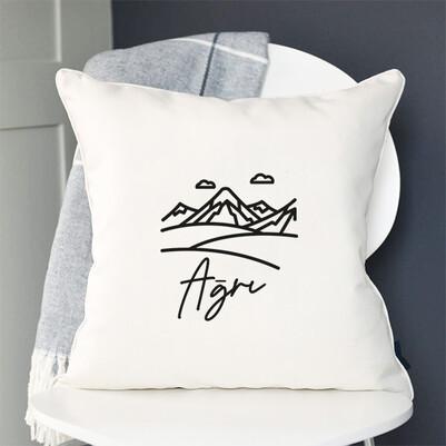 - Ağrı Tasarımlı Yastık