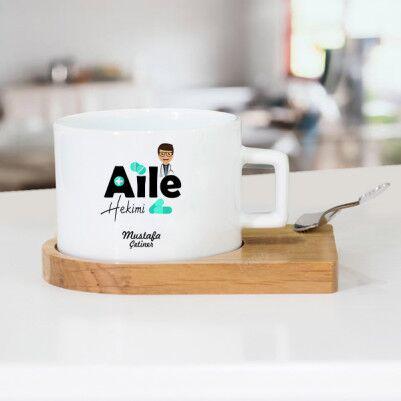 - Aile Hekimine Hediye Çay Fincanı