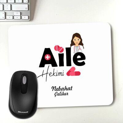 Aile Hekimine Hediye Mouse Pad - Thumbnail