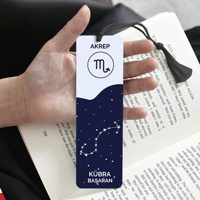 Akrep Burcuna Hediye Kitap Ayracı - Thumbnail