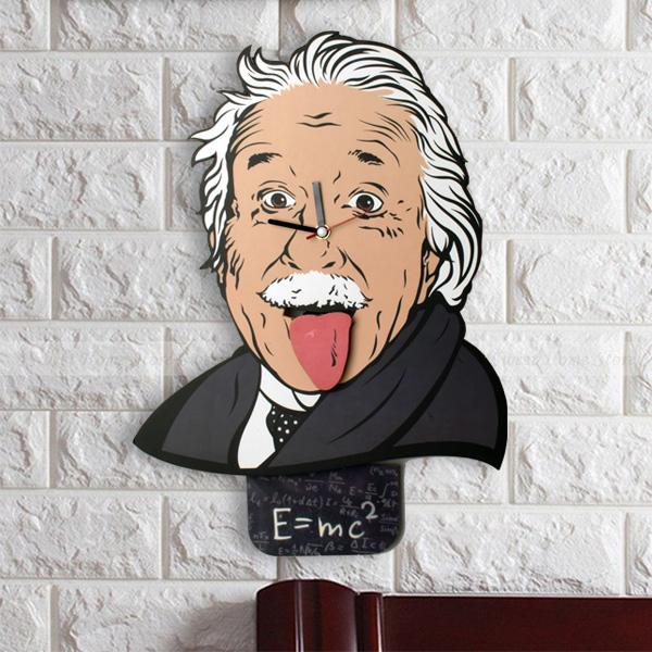 Albert Einstein Duvar Saati