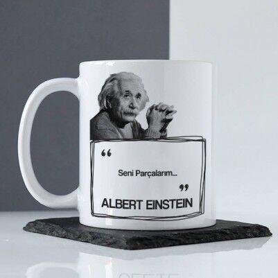 - Albert Einstein Esprili Kahve Kupası