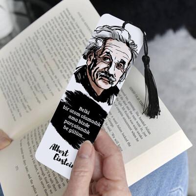 Albert Einstein Kitap Ayracı - Thumbnail