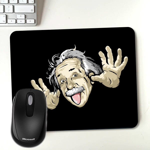 Albert Einstein Temalı Mousepad