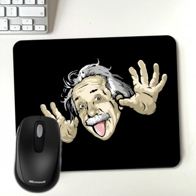 - Albert Einstein Temalı Mousepad