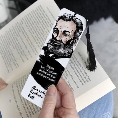 Alexander Graham Bell Kitap Ayracı - Thumbnail