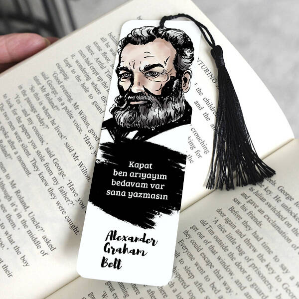 Alexander Graham Bell Kitap Ayracı
