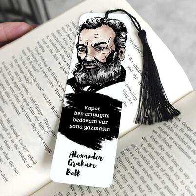 - Alexander Graham Bell Kitap Ayracı