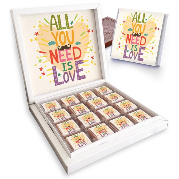 All You Need is Love Çikolata Kutusu