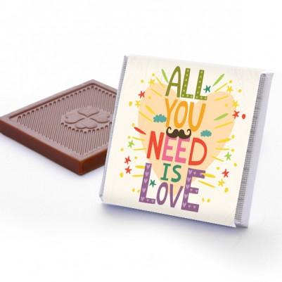 All You Need is Love Çikolata Kutusu - Thumbnail