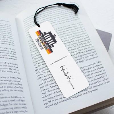 - Almanca Öğretmenine Özel Hediyelik Kitap Ayracı