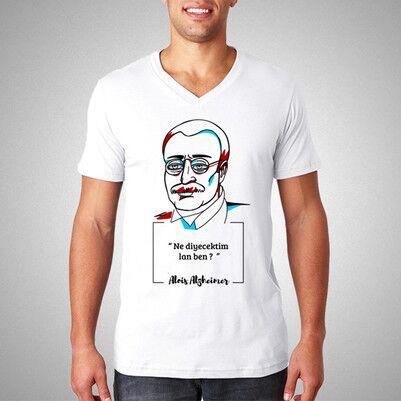 - Alois Alzheimer Esprili Tişört