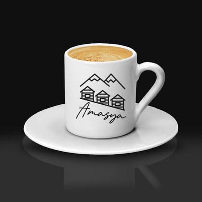 - Amasya Tasarımlı Kahve fincanı