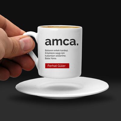 Amca Kimdir Kahve Fincanı - Thumbnail