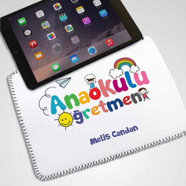 Anaokulu Öğretmenine Özel Tablet Kılıfı