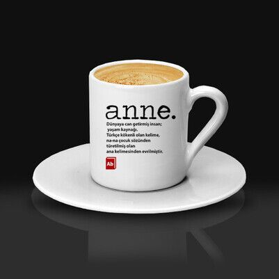 Anne Tanımı Kahve Fincanı - Thumbnail
