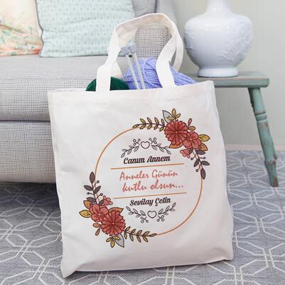 - Anneler Günü Hediyesi Bez Çanta