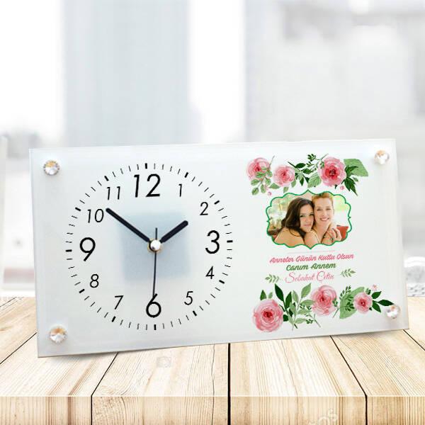Anneler Günü Hediyesi Tasarım Masa Saati
