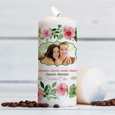 - Anneler Günü Hediyesi Tasarım Mum